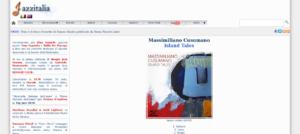 Jazzitalia - Recensioni - Massimiliano Cusumano Island Tales